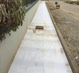 Lottizzazione con posa betonelle e varie fondazioni di recinzione Foto_001