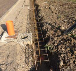 Lottizzazione con posa betonelle e varie fondazioni di recinzione Foto_004