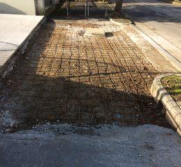 Lottizzazione con posa betonelle e varie fondazioni di recinzione Foto_007