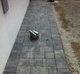 Posa betonelle